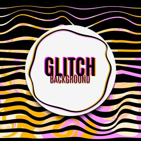 Vector glitch background.