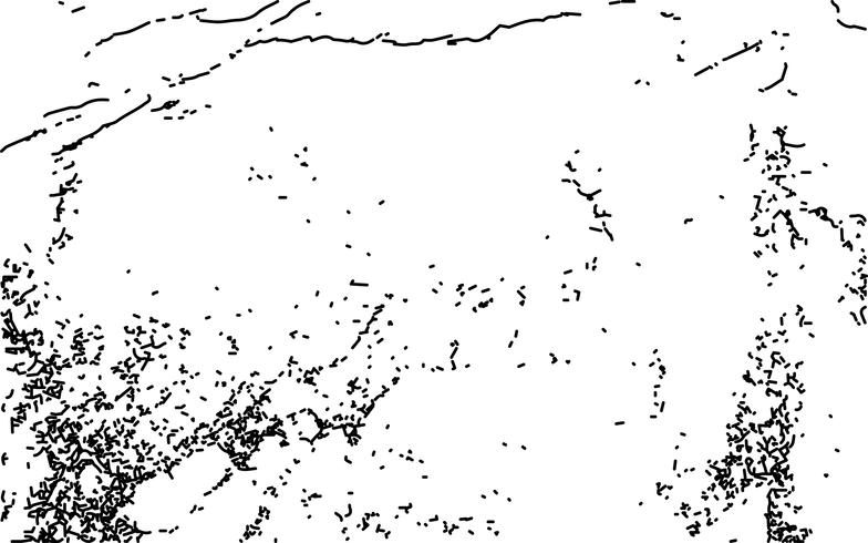 Struttura in bianco e nero di emergenza di lerciume. vettore