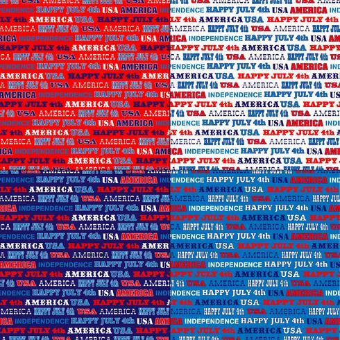 röd vitblå usa typografi stripe mönster