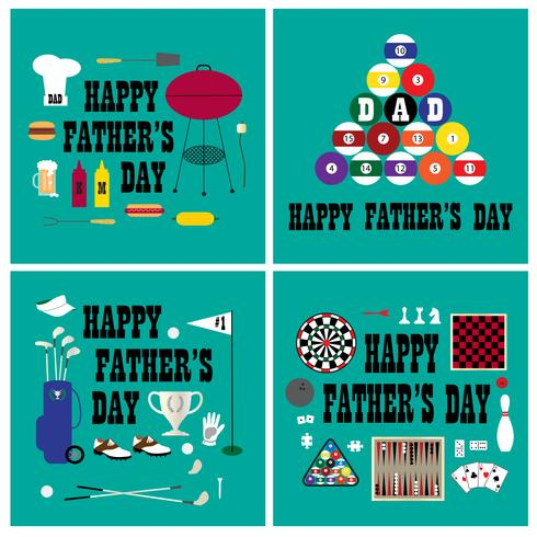 Father's day graphics vector