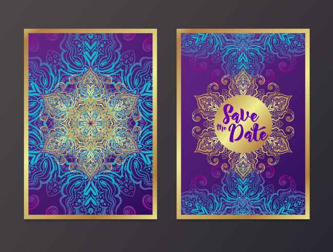 Rich Wedding Invitations, Indian style.
