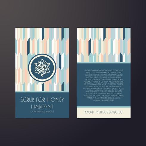 Set of dark vintage seamless backgrounds for luxury packaging design. vector