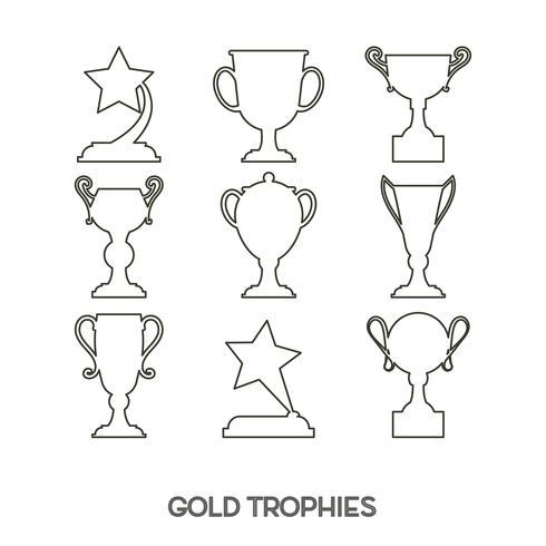 Copa del premio ganador.