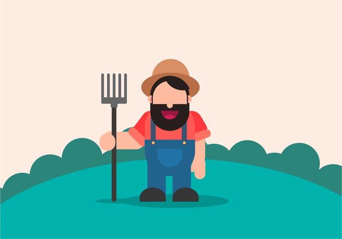 Hervorragender Farmer