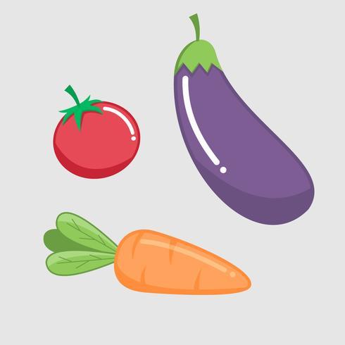 Unique Vegetable vector