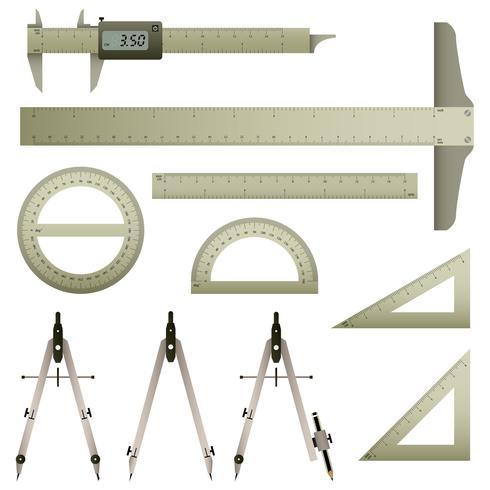 Instrument de mesure des mathématiques.