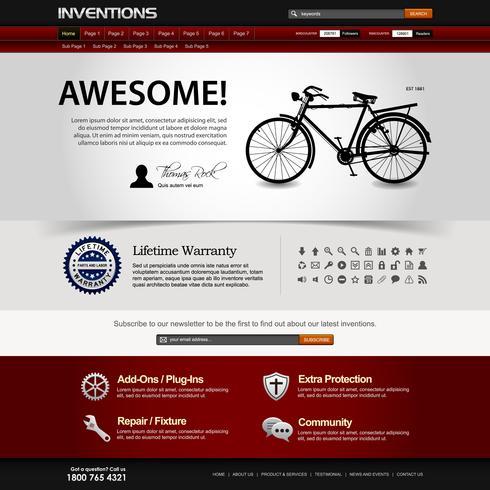Web Design Website Element Template.