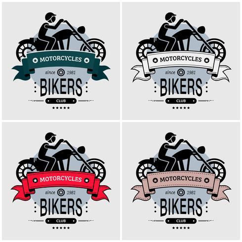 Création du logo du club de motards Chopper.