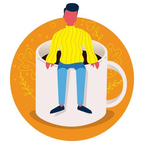 Kaffee-Tag