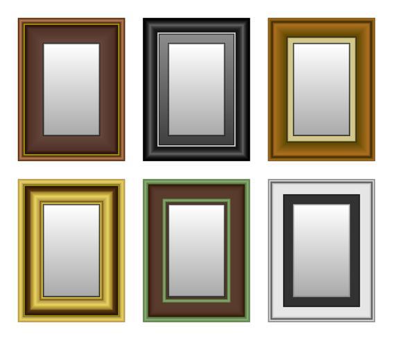 Rahmen Bildspiegel.