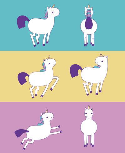 Colores unicornio