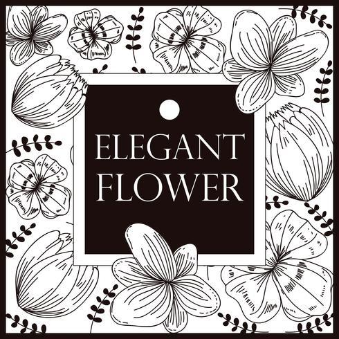 Elegante Blume