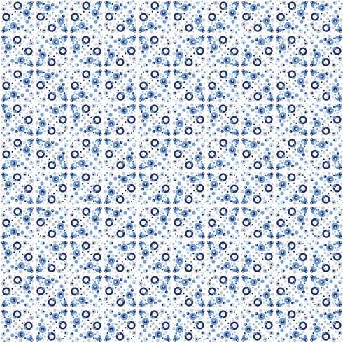 Abstract seamless pattern in Moroccan style vector