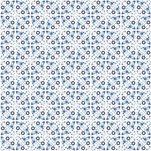 Abstrata sem costura padrão em estilo marroquino