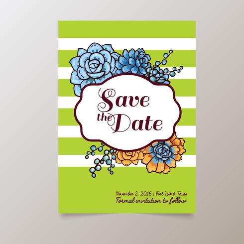 Wedding. Save The date vector