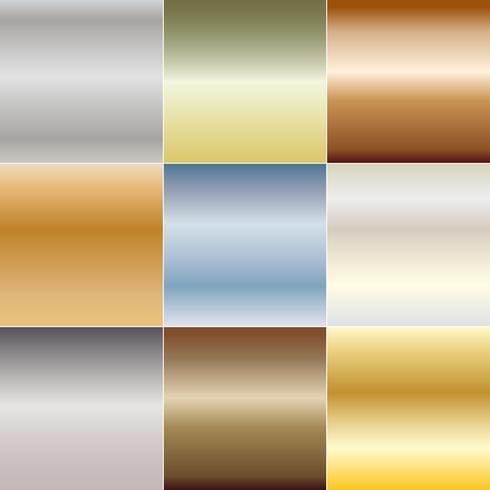 metallische Steigung abstrakte Hintergründe vektor