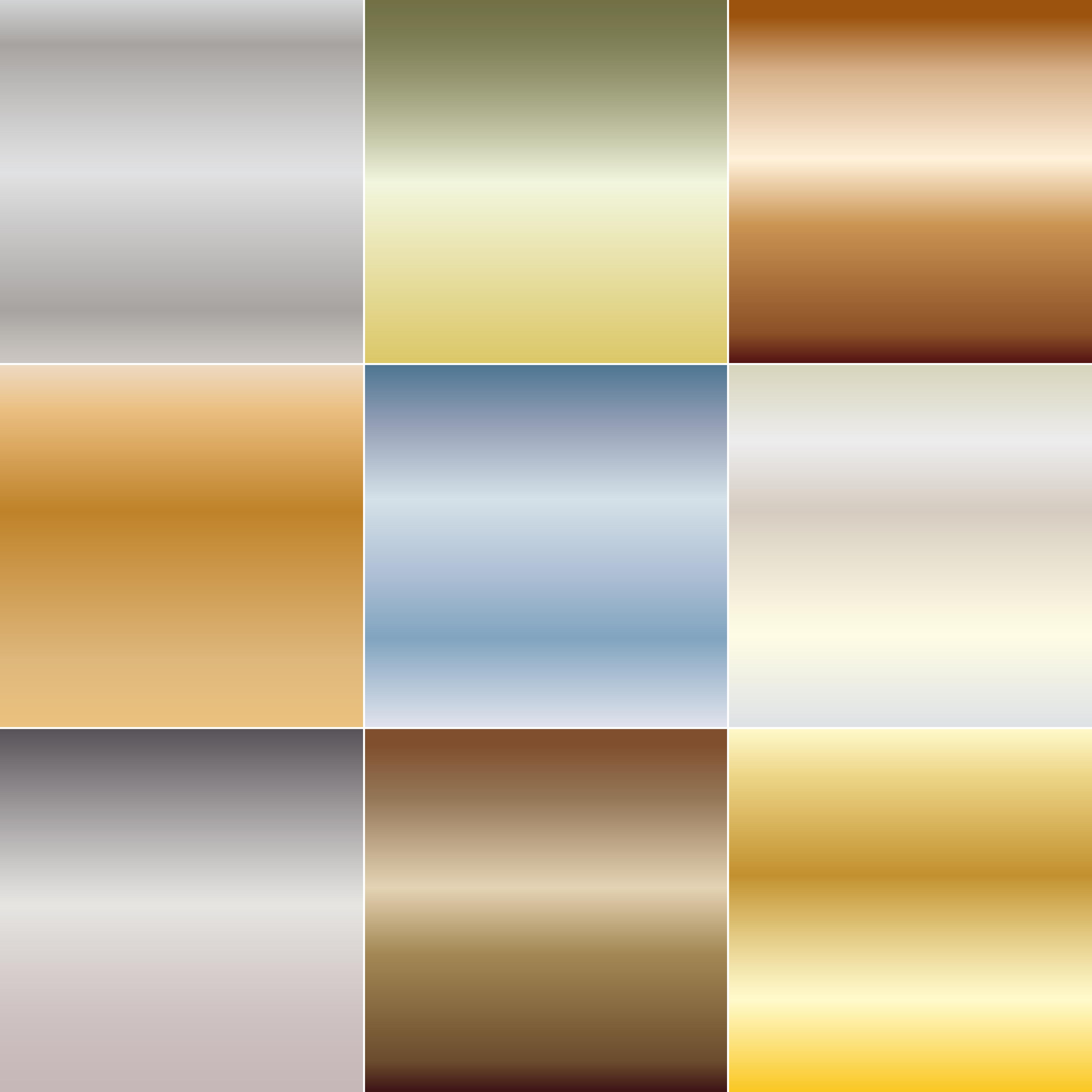 Metallic Gradient Abstract Backgrounds