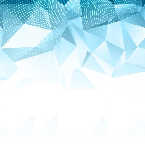 abstrakter Low-Poly-Design-Hintergrund
