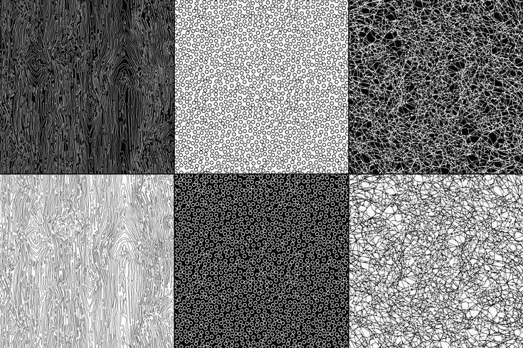 texturas naturales en blanco y negro