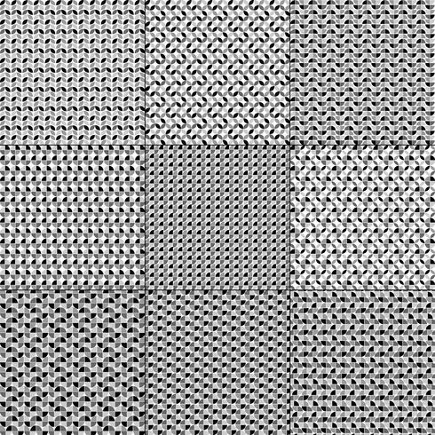 padrões geométricos cinza brancos pretos