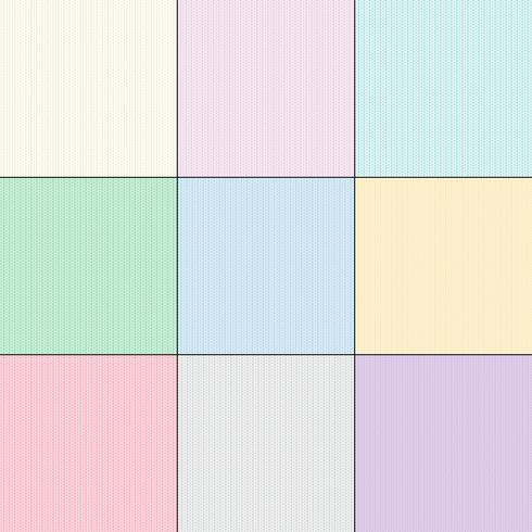Pastel Knit Texture background patterns vector