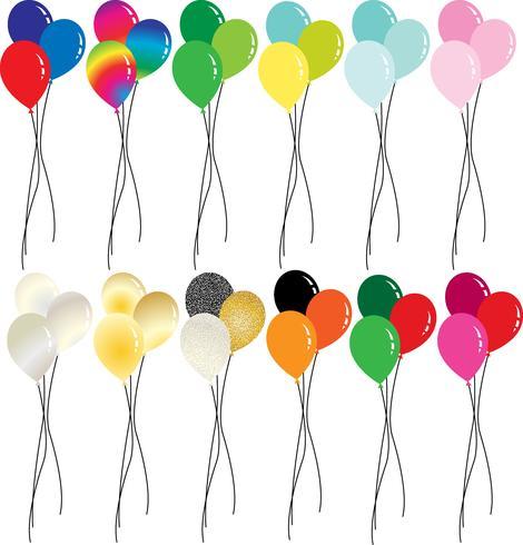 Feiertagsballon clipart vektor