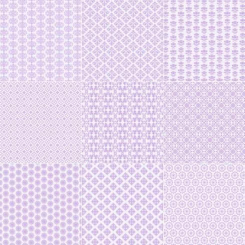 lavendel spetsmönster