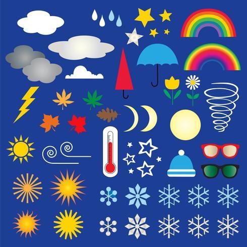 clipart icônes météo