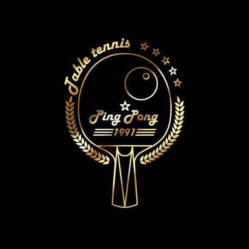 Tafeltennis. Ping pong