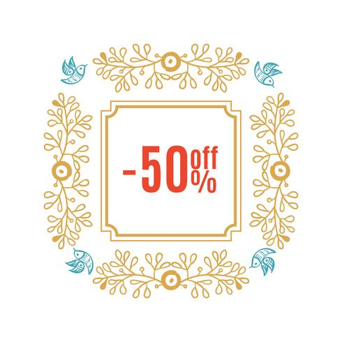 Bright Christmas sale banner
