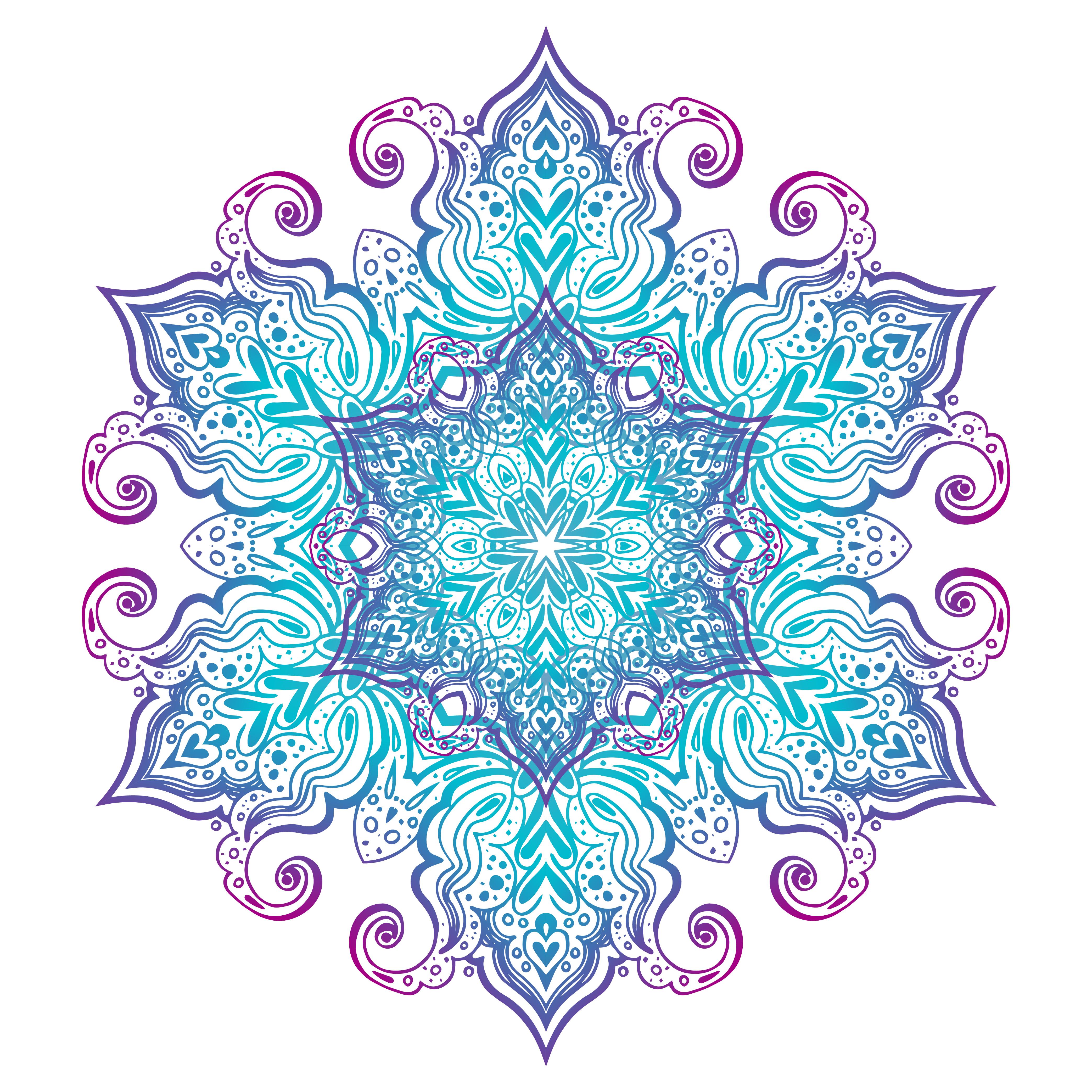 Mandala banner, Indian style. - Download Free Vectors ...