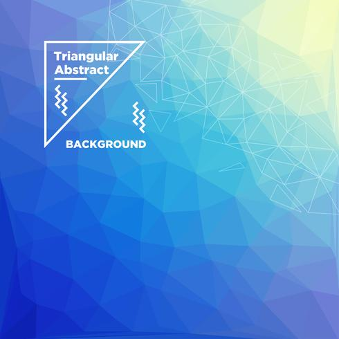 Fond polygonale triangulaire