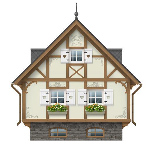 Casa enxaimel clássica