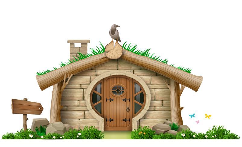 Fabulous forest gnome hut