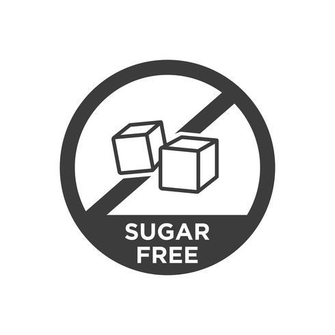 Icône sans sucre.