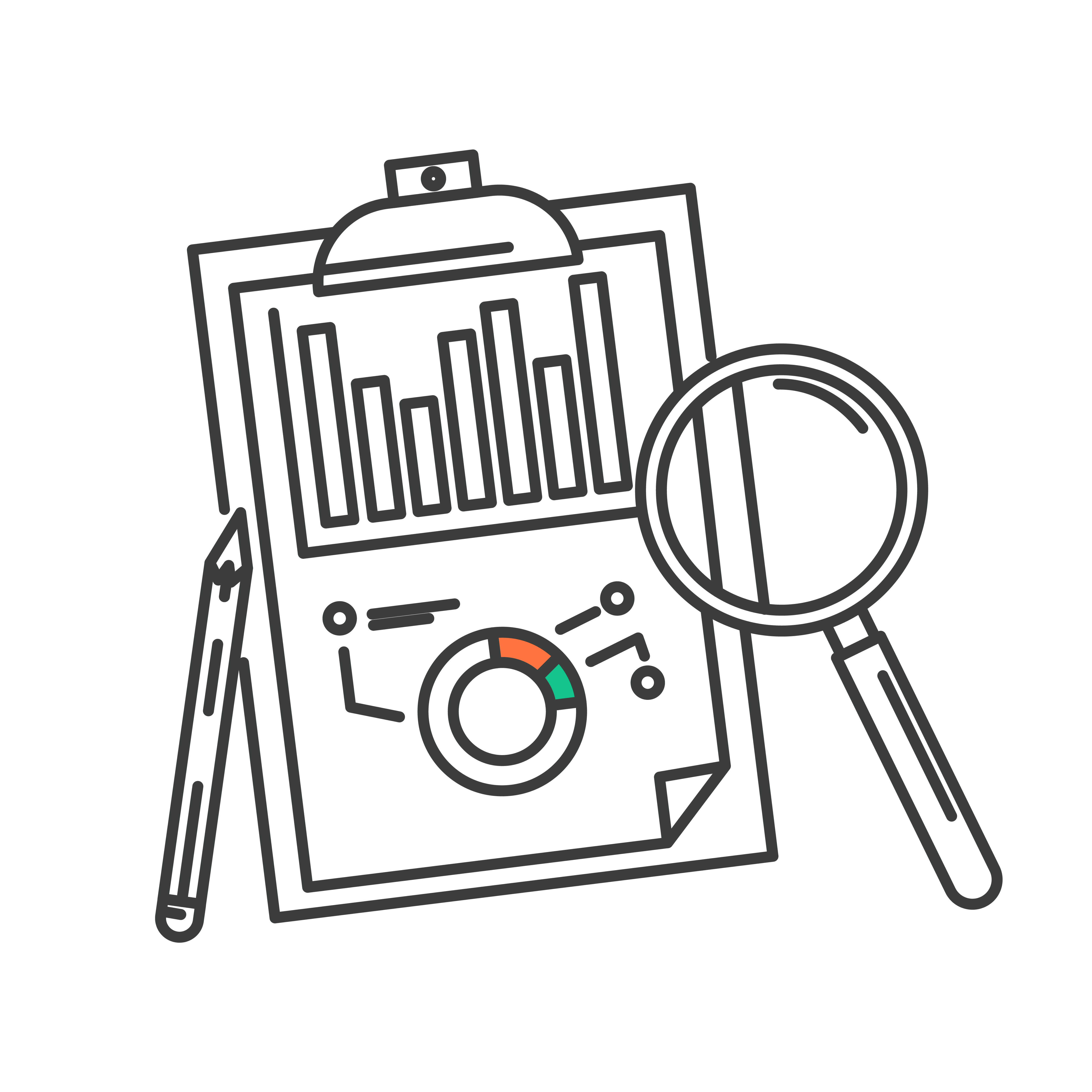Design concept of business big data analysis icon. 343462 ...