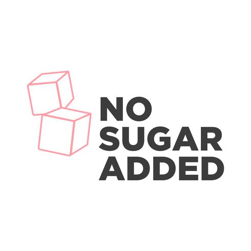 No Sugar added icon.