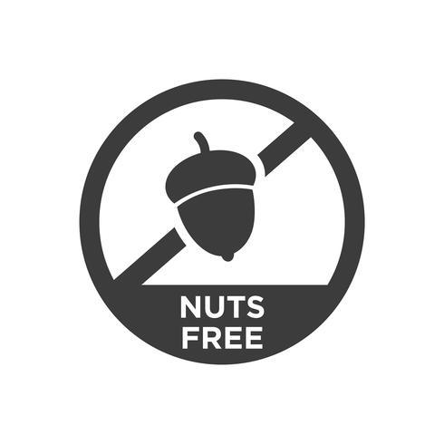 Icône gratuite de noix.