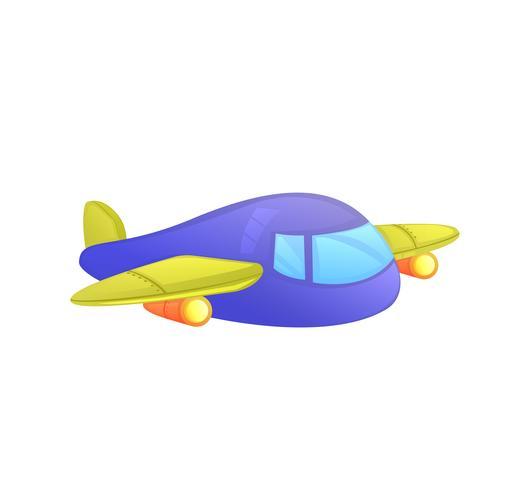 Speelgoed voor kinderen voor kinderen. Vector cartoon illustratie