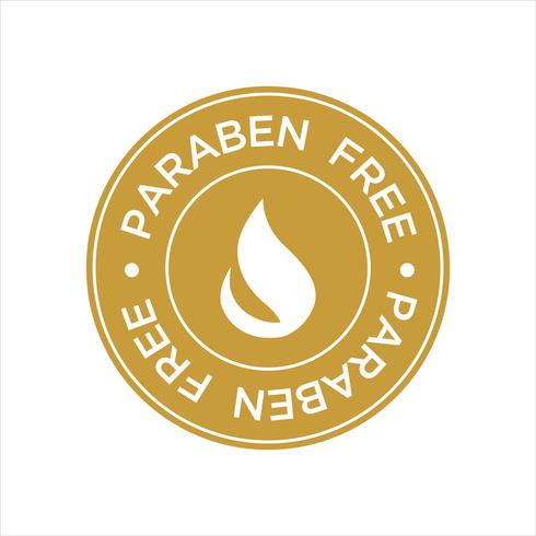 Icono Libre De Paraben. vector
