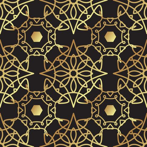 Vintage luxury gold background art deco