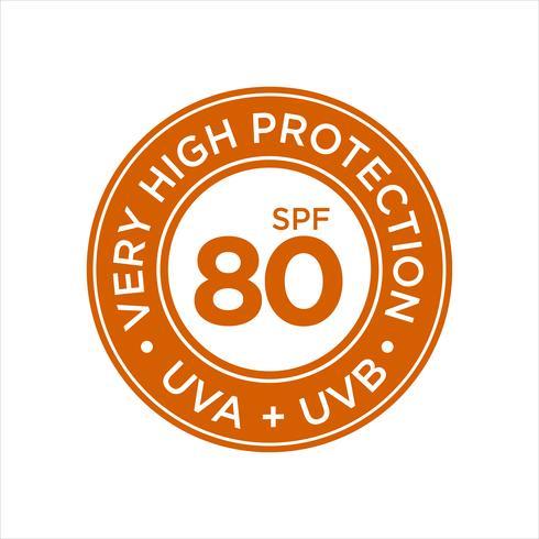 UV, zonwering, zeer hoge SPF 80