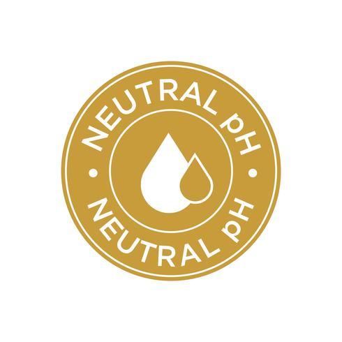 Icono de pH neutro
