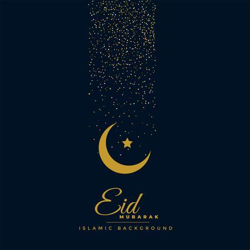 schönes Eid Festival Gruß Design