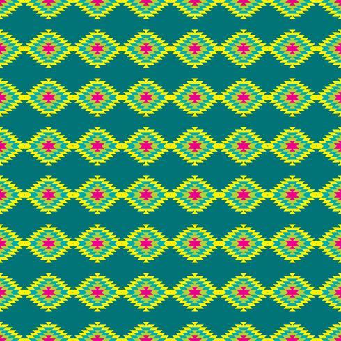 Mexicaans Folkloric tracery textiel naadloos patroon