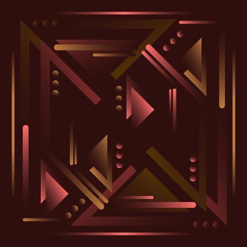 Vector fondo abstracto oscuro