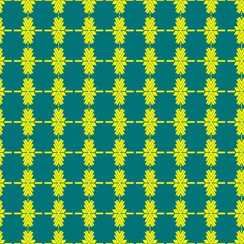 Mexican Folkloric tracery textil sömlösa mönster