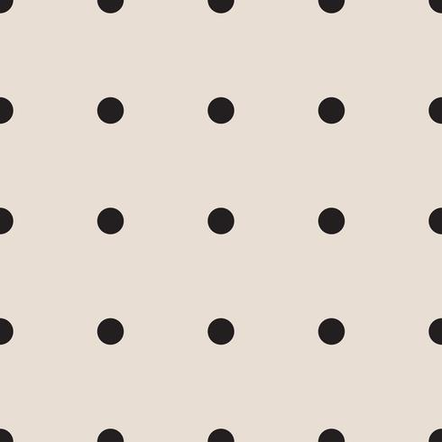seamless patterns with white and black peas (polka dot).