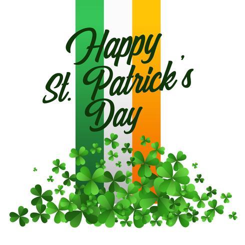 heureux fond de célébration de la Saint-Patrick