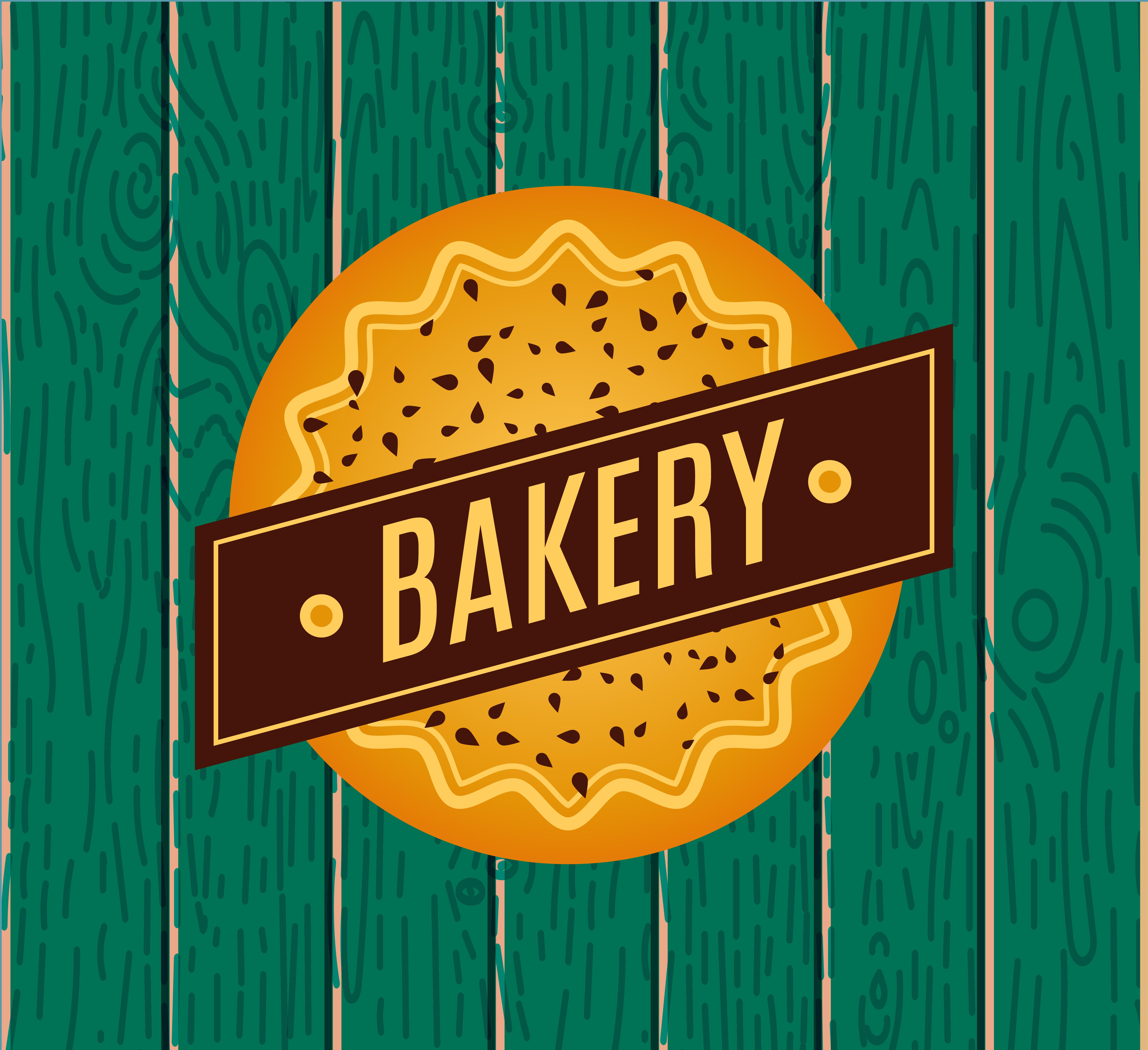 Retro Bakery Logo: Collection Of Vintage Retro Bakery